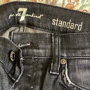 7 for all Man Kind Jeans standard button up jeans